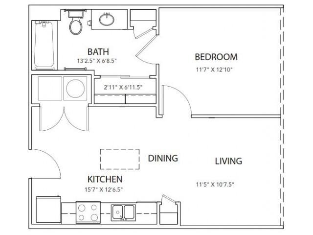 Floor Plan 15 | Parkside at Firewheel