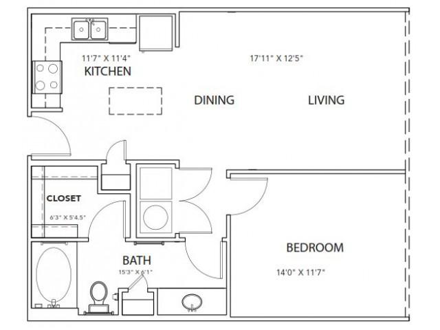 Floor Plan 17 | Parkside at Firewheel