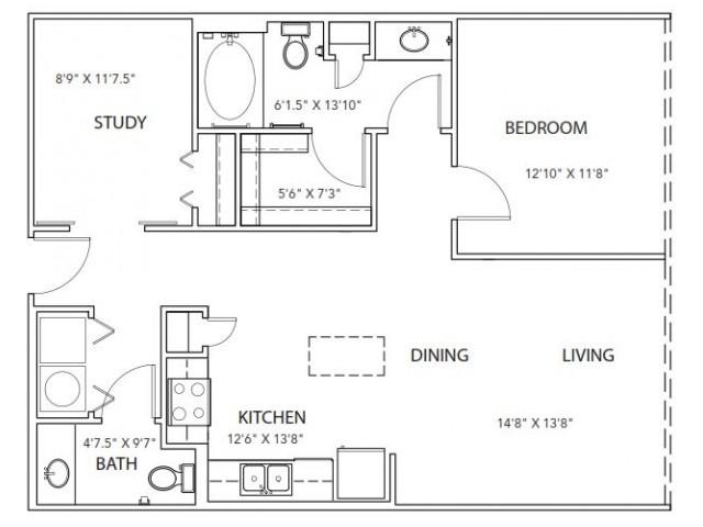 Floor Plan 19 | Parkside at Firewheel