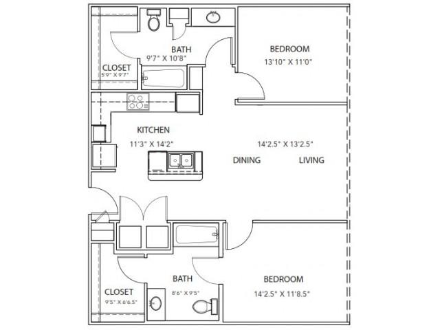 Floor Plan 23 | Parkside at Firewheel
