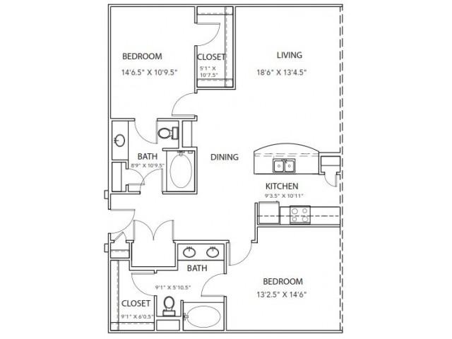 Floor Plan 24 | Parkside at Firewheel