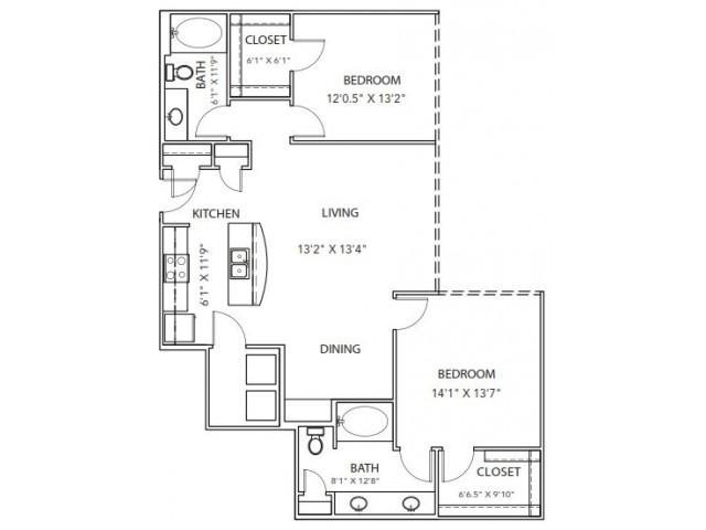 Floor Plan 25 | Parkside at Firewheel