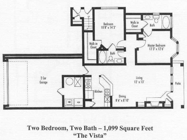 Floor Plan 3 | Pine Valley
