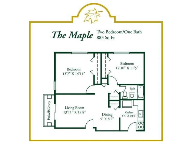 Floor Plan 3 | Woodview at Randolph