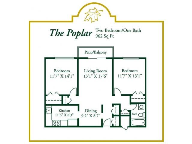 Floor Plan 4 | Woodview at Randolph