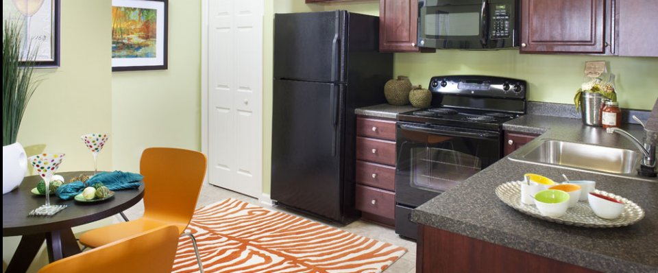 Kitchen area of apartments for rent in Odenton, MD