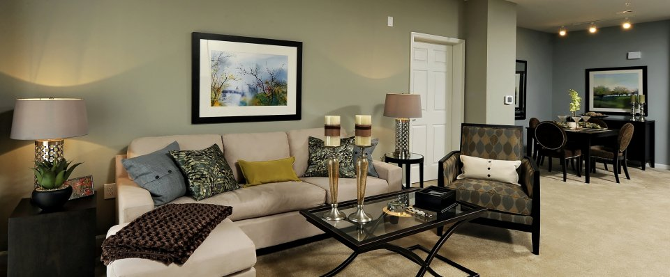 Elkridge apartments with spacious living room