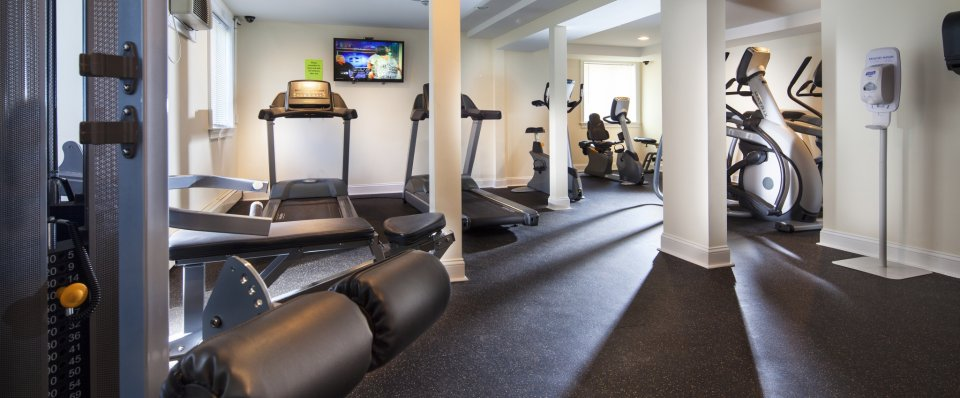 Milford apartments | Fitness Center | The Groves at Milford