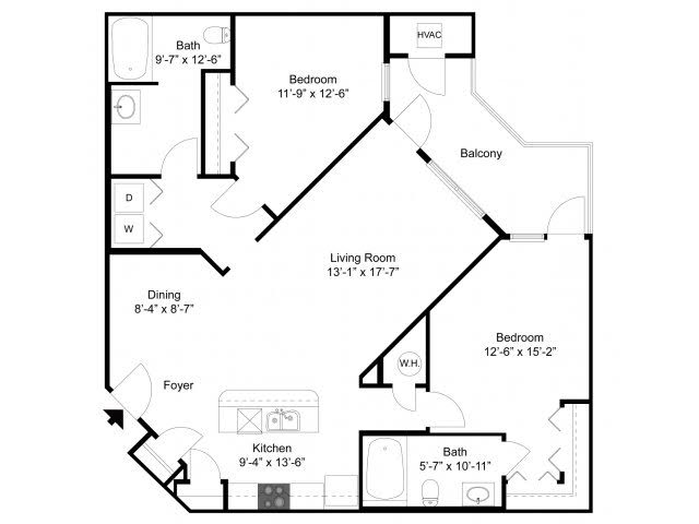 Floor Plan 3 | Alexander at Patroon Creek