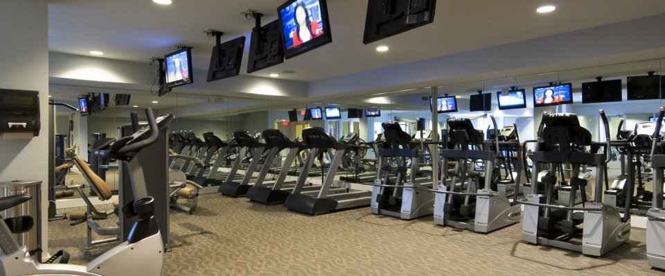 Fitness Center at Alexander at Patroon Creek