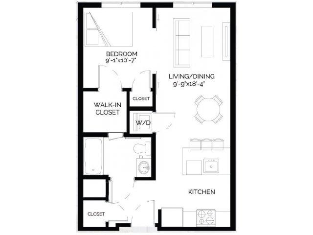 Floor Plan 4   West of Chestnut
