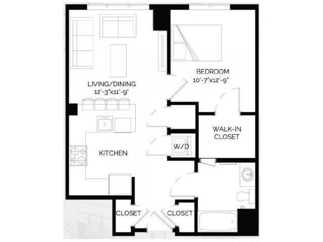 Floor Plan 5   West of Chestnut