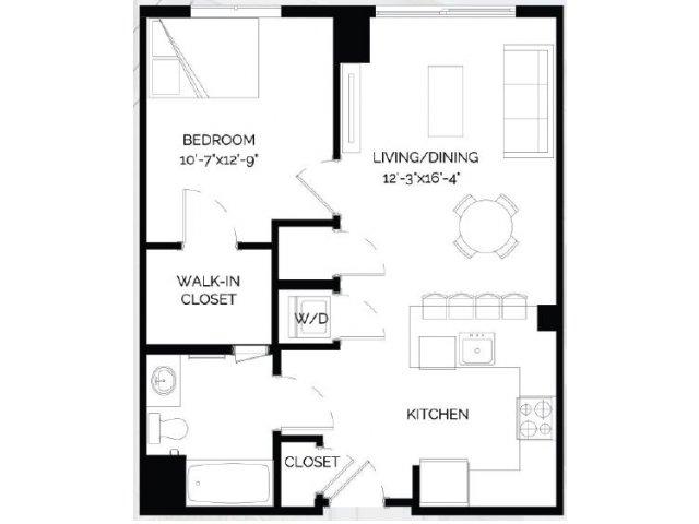 Floor Plan 7   West of Chestnut