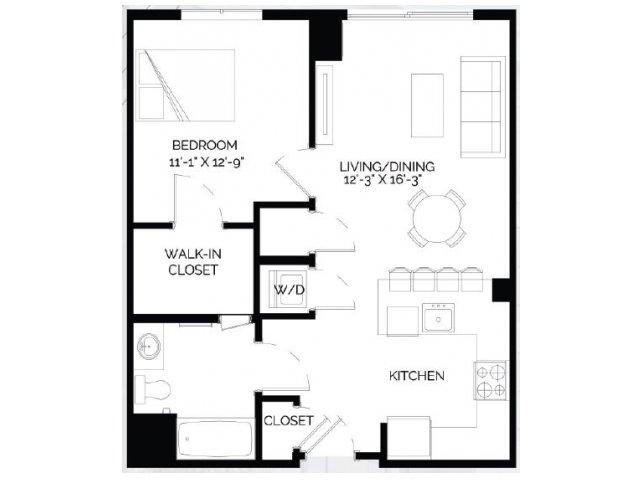 Floor Plan 11   West of Chestnut