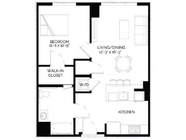 Floor Plan 12   West of Chestnut