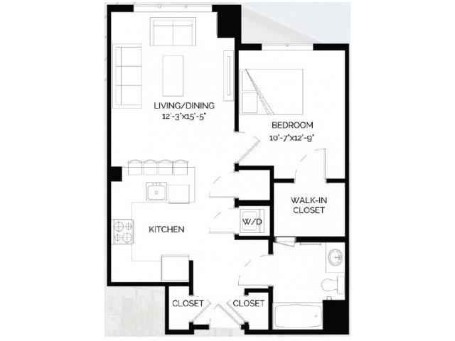 Floor Plan 13   West of Chestnut