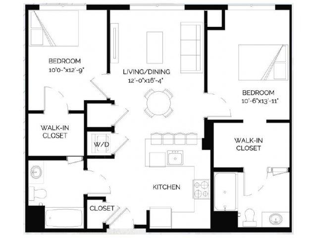 Floor Plan 19   West of Chestnut