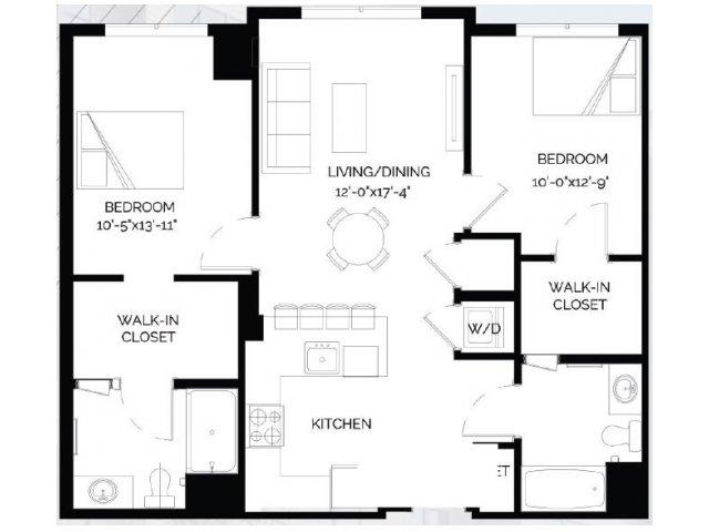 Floor Plan 21   West of Chestnut