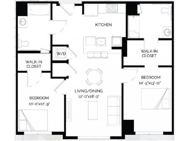 Floor Plan 22   West of Chestnut
