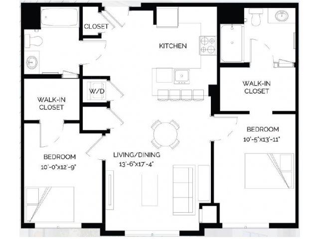 Floor Plan 23   West of Chestnut