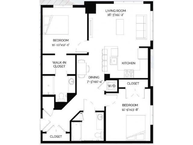 Floor Plan 25 | West of Chestnut