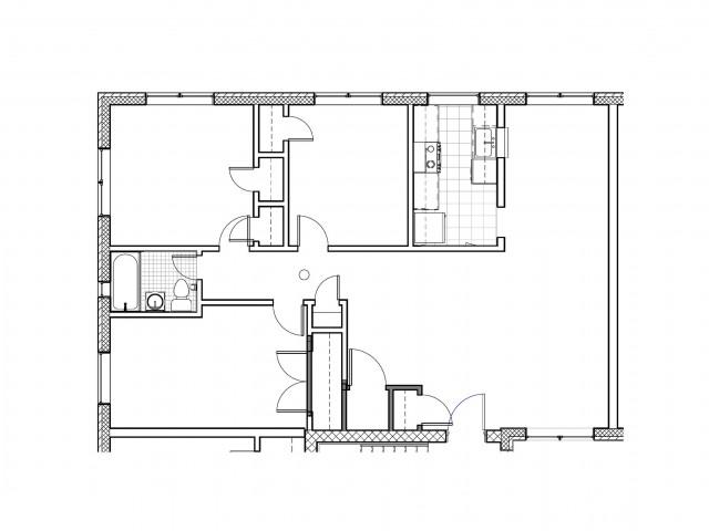 3 Bed 2 Bath Apartment In Alexandria Va Trilogy Apartments