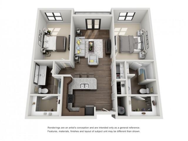 2 Bedroom Apartment - Salem