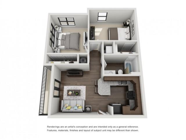 2 Bedroom Apartment - Winston