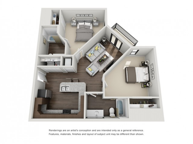 2 Bedroom Apartment - Reynolds
