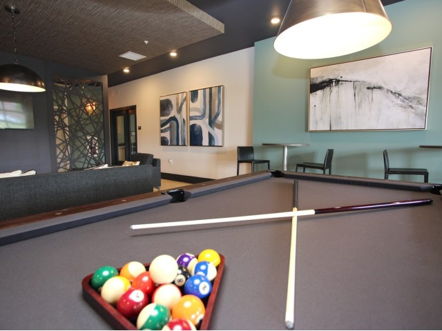 Image of Club Room with Billiards Table for 757 North Apartments