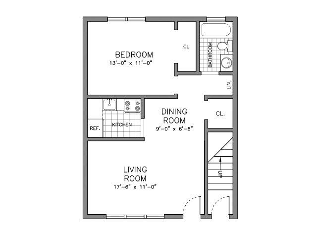1 Bed 1 Bath Apartment In Nutley Nj Arla Apartments