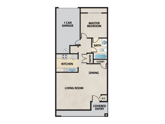 Floor Plan | Cantata at the Trails
