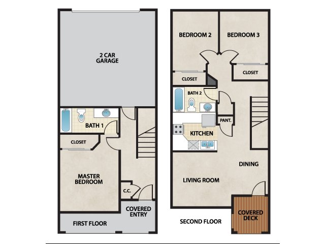 Floor Plan 2 | Cantata at the Trails