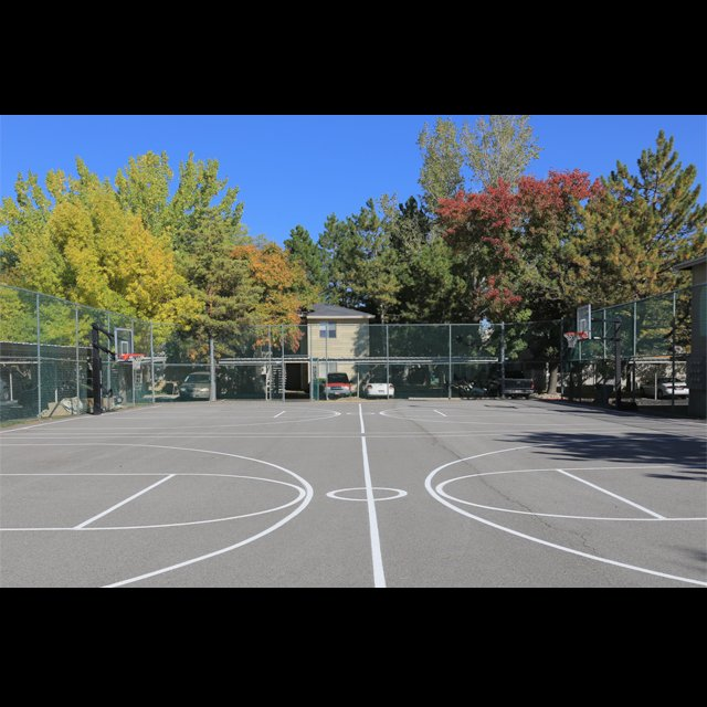 Murray apartments with full-court basketball court