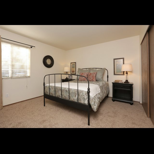 West Valley apartments master bedroom