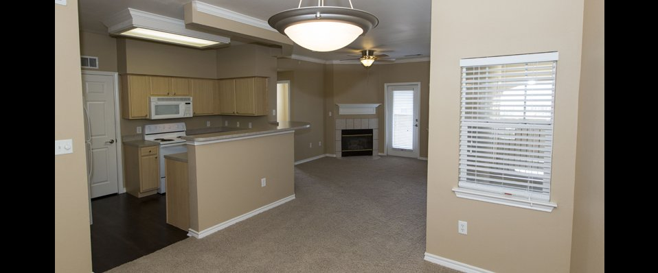 Living room of Colorado Springs apartments for rent