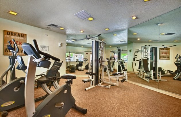 Fitness Center at our Raintree Apartments in Tucson AZ