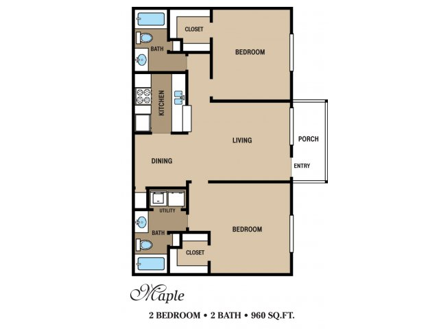 Floor Plan 9 | Walden Pond and the Gables