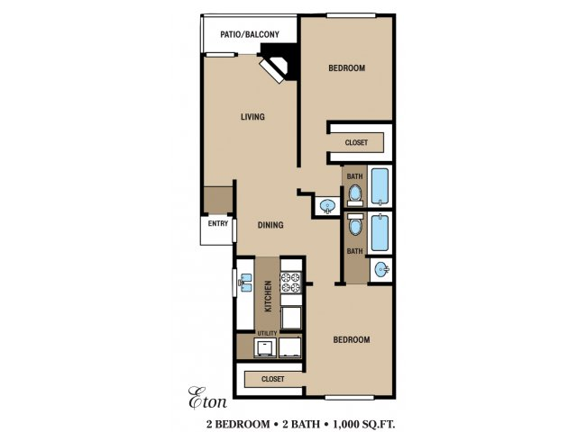 Floor Plan 10 | Walden Pond and the Gables