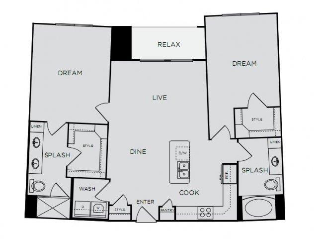 C1a Floor Plan