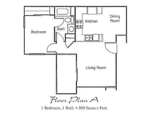 1 Bed / 1 Bath Apartment in Fontana CA   Maple Hill