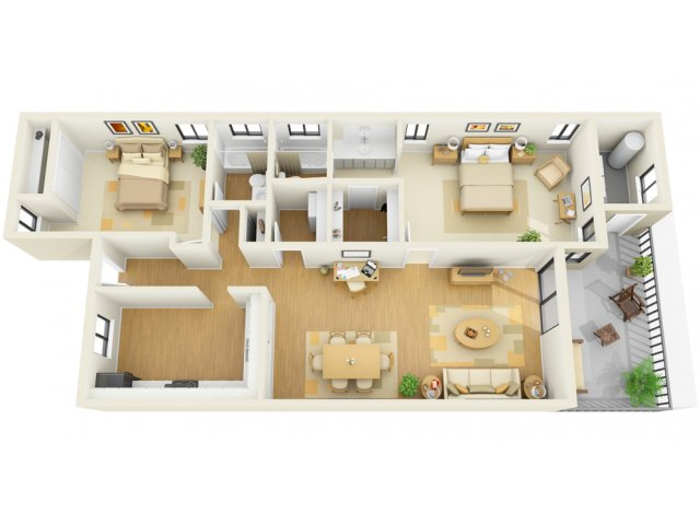 Diverse Floor Plans | Luxury Apartments Bradenton FL | Bay Club