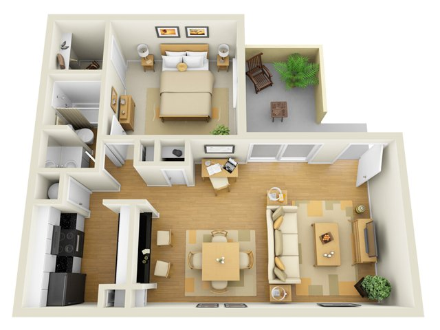 Floor Plan 2   1 Bedroom Apartments in Sarasota FL   L  Estancia. 54821c1460743431 jpg