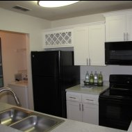 Chick kitchen at Champions Walk apartments in Bradenton