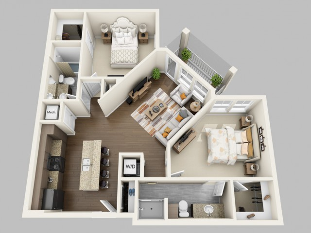 Luxury 1 2 & 3 Bedroom Apts in Orlando FL