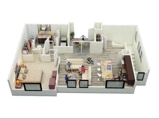 L1 Floor plan