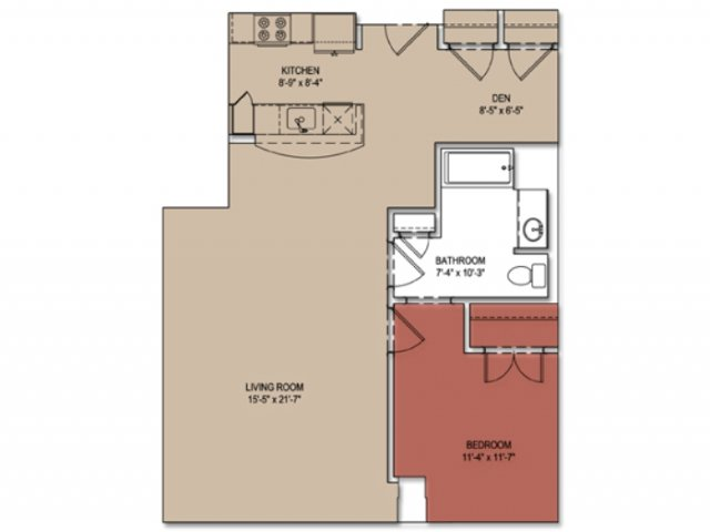1 Bed 1 Bath Apartment In Fall River Ma Curtain Lofts