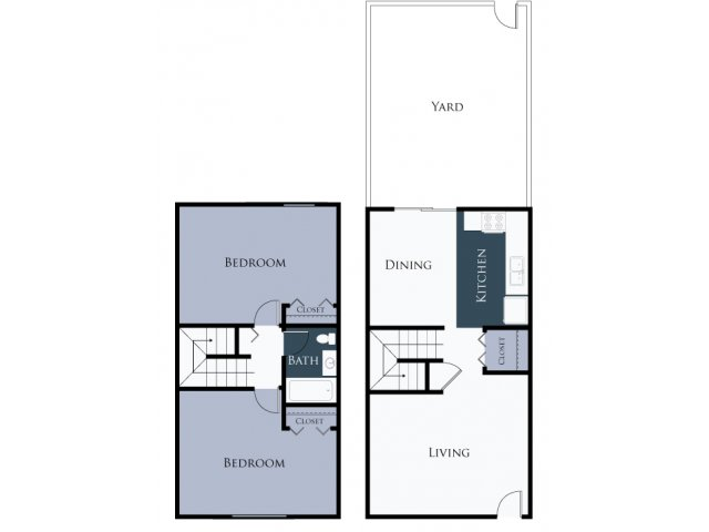 Huge 2 Bedroom