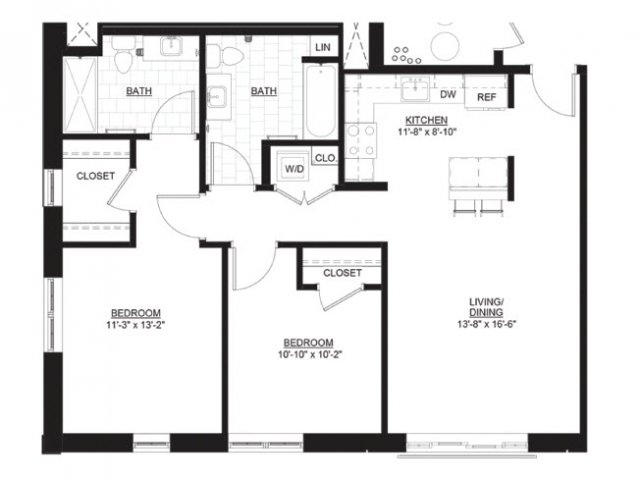 New Two Bedroom Apartments in Portsmouth NH