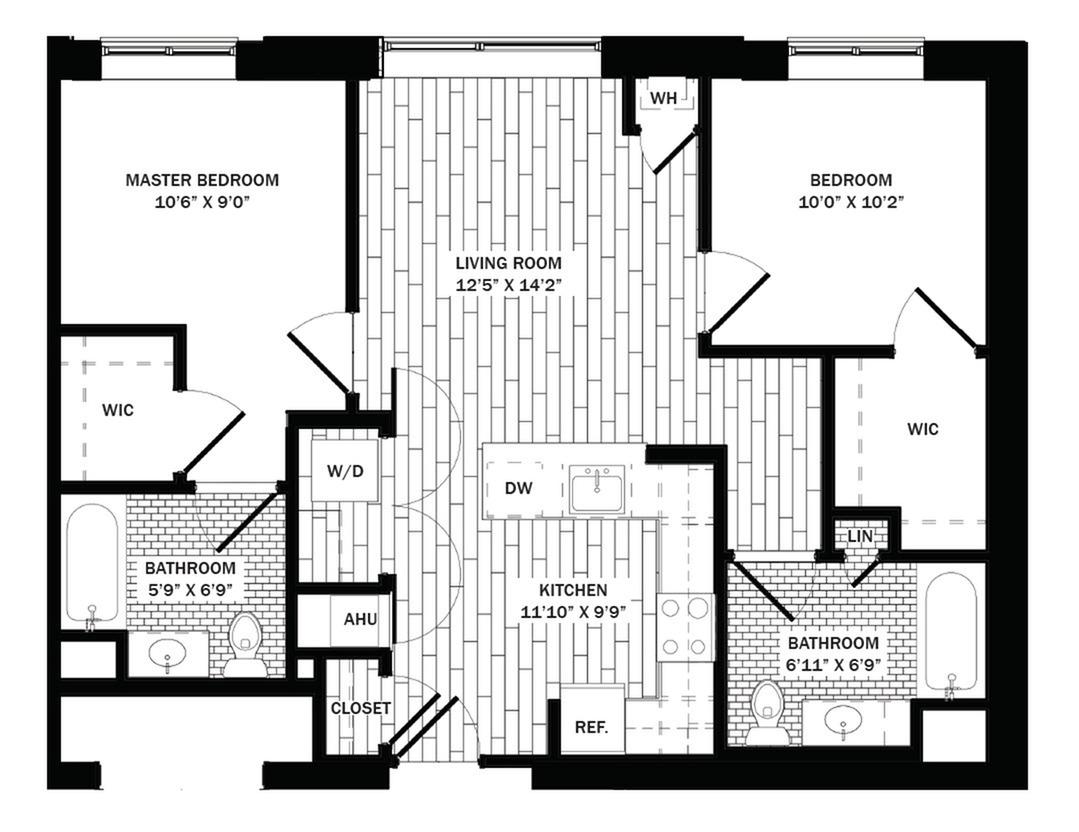 Studio 2 Bed Apartments Metro Green Terrace